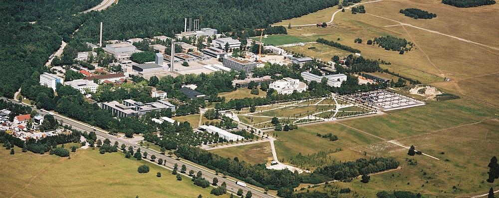 Luftaufnahme vom Helmholtz Zentrum München